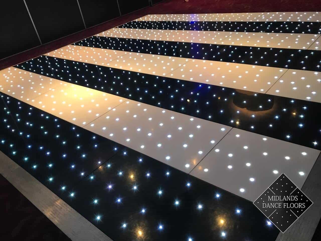 Striped Starlit Dance Floor