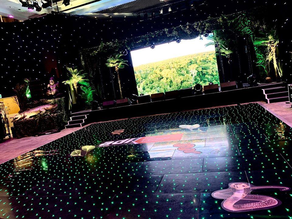 Starlit Led Black Dance Floor