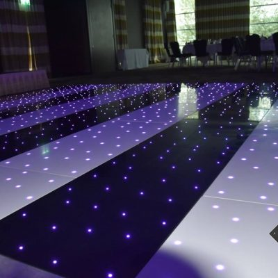 Striped Starlit Led Dancefloor Birmingham